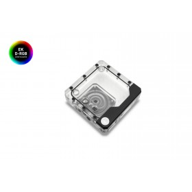 EK Water Blocks Kinetic FLT 120 DDC Pump-reservoir combo Black, Transparent