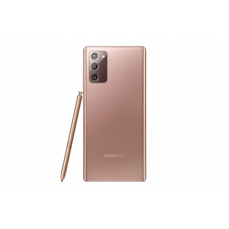 "Samsung Galaxy Note20 SM-N980F 17 cm (6.7"") Double SIM Android 10.0 4G USB Type-C 8 Go 256 Go 4300 mAh Bronze"