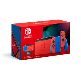 """Nintendo Switch Mario Red & Blue Edition portable game console 15.8 cm (6.2"""") 32 GB Touchscreen Wi-Fi Blue, Red"""