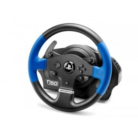 Thrustmaster T150 Force Feedback Black, Blue USB Steering wheel + Pedals PC, PlayStation 4, Playstation 3