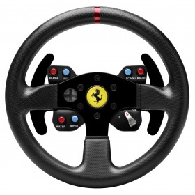Thrustmaster Ferrari 458 Challenge Wheel Add-On Schwarz USB 2.0 Steuerrad PC, Playstation 3
