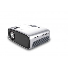 Philips NPX440 INT data projector Portable projector 2600 ANSI lumens LCD 800x480 Black, Silver