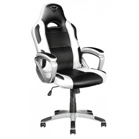 Trust GXT 705W PC gaming chair Black, White