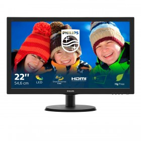Philips V Line LCD monitor with SmartControl Lite 223V5LHSB 00