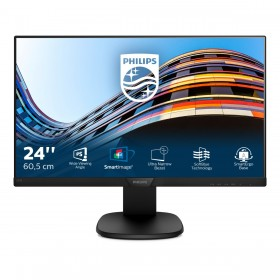 Philips S Line LCD monitor with SoftBlue Technology 243S7EHMB 00