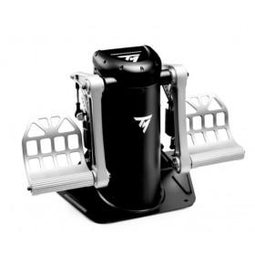 Thrustmaster TPR Rudder Schwarz, Silber USB Flugsimulation Analog PC