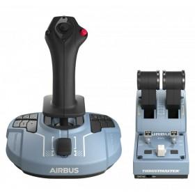 Thrustmaster Airbus Edition Schwarz, Blau USB Joystick Analog   Digital PC
