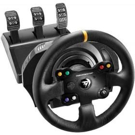 Thrustmaster 4460133 accessoire de jeux vidéo Noir Volant + pédales PC, Xbox One