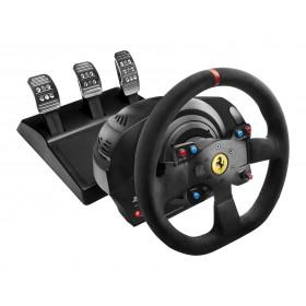 Thrustmaster T300 Ferrari Integral Racing Wheel Alcantara Edition Negro Volante + Pedales Analógico Digital PC, PlayStation 4,
