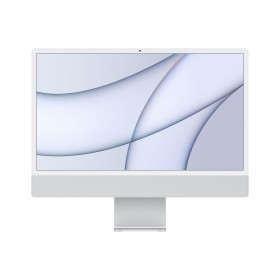 """Apple iMac 61 cm (24"""") 4480 x 2520 pixels Apple M 8 Go 256 Go SSD PC All-in-One macOS Big Sur Wi-Fi 6 (802.11ax) Argent"""