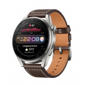 Huawei WATCH 3 Pro Classic - Brown Leather